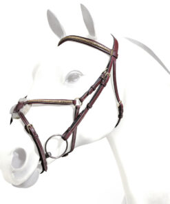 CLINCHERED FIG. 8 BRIDLE - EMPORIO COLLECTION